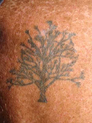 faded memorial tattoo