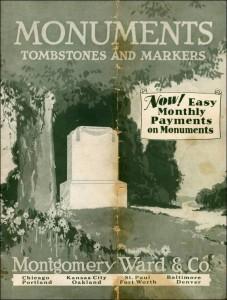 Montgomery Wards Tombstones