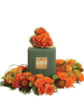 urn floral arrangments