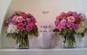 floral urn display
