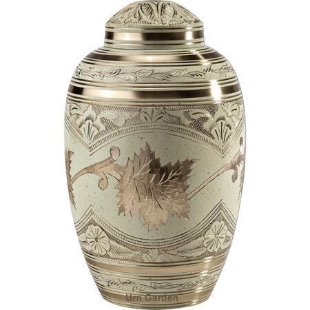 cream wash creamation urn for ashes