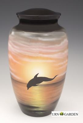 Dolphin Cremation Urn