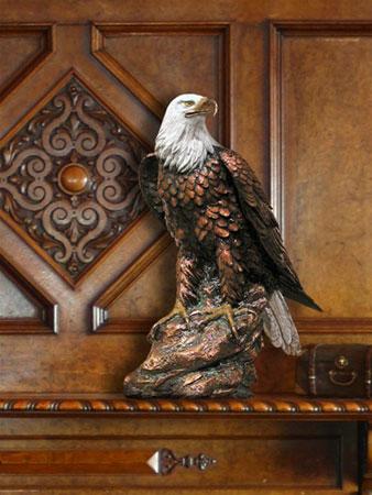 Bronze Eagle Cremation Urn