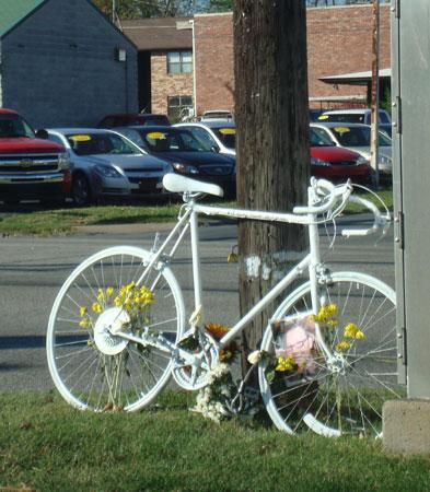 Ghost Bike Springfield Missouri