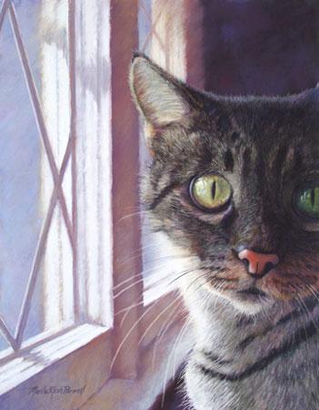 Cat Pet Memorial Painting
