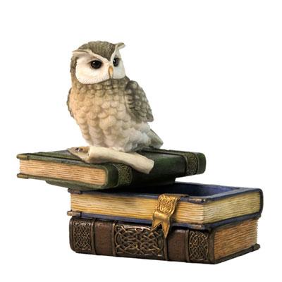 owl keepsake urn