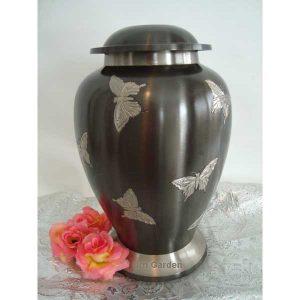 sterling butterfly urn
