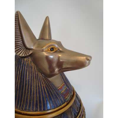 egypt pet urn