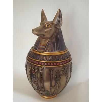 egyptian pet urn
