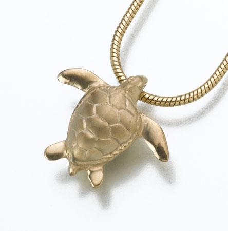 turtle cremation urn jewelry