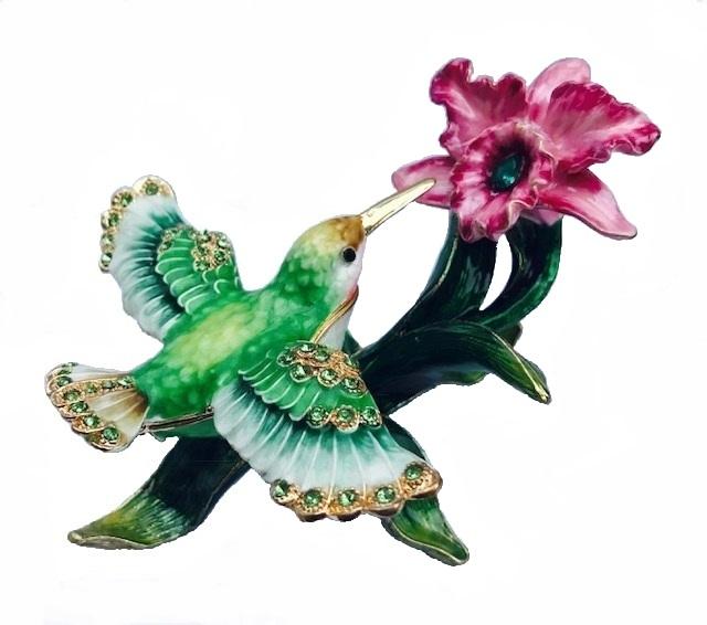 hummingbird mini urn