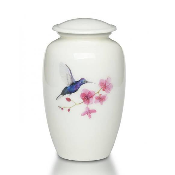 hummingbird cremation urn for adult human