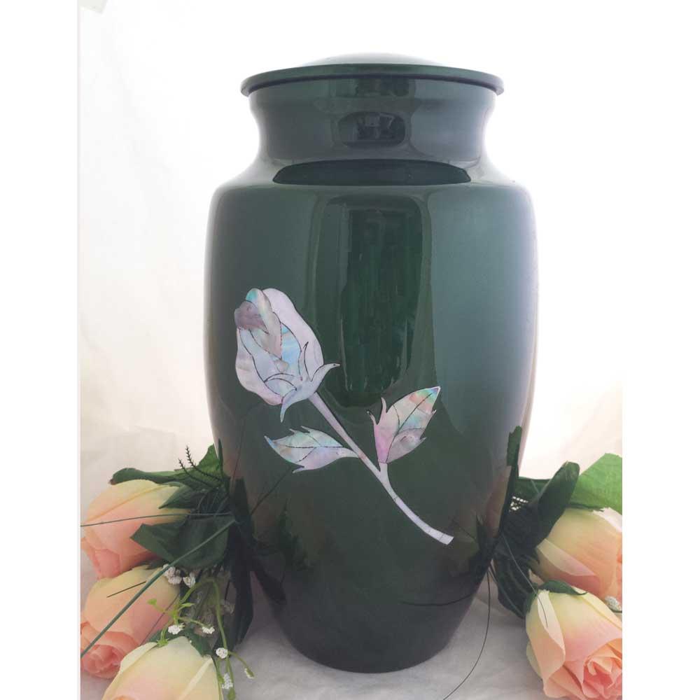 Irish Rose Cremation Urn for Ashes