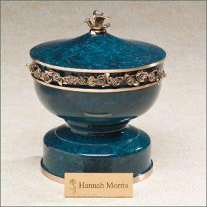 belle bronze cremation urn for ashes