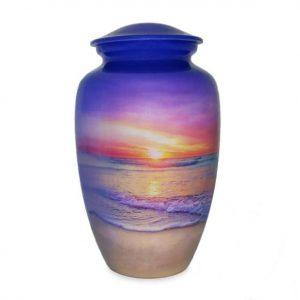 purple siesta key beach urn for ashes