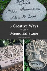 5 Ways to Use Memorial Stones