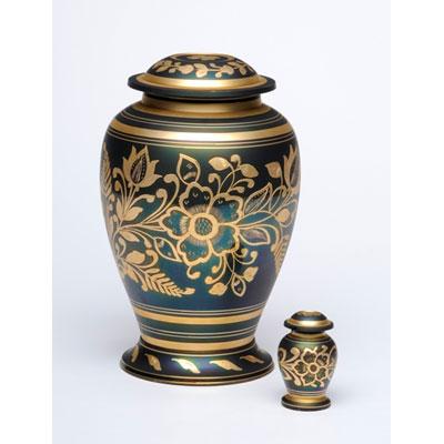 shamrock cremation urn for ashes
