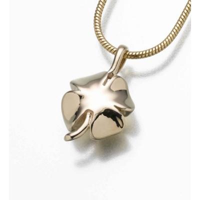 shamrock clover necklace for ashes