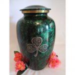 Cremation Memorials for March: Irish, Shamrock, & Celtic Urns