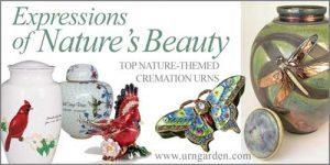 Beautiful Urns Nature Themes
