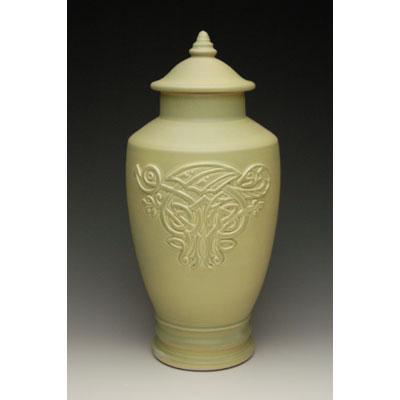 celtic dragon cremation urn for ashes