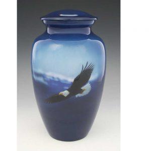 eagle creamtion urn for ashes