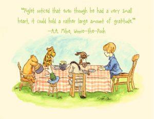 pooh gratitude