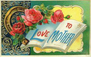 vintage mothers day postcard
