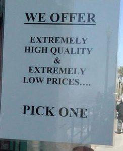low price high quality