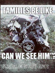 funeral director humor