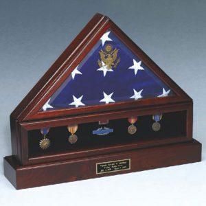 flag medal case