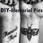 DIY Memorial Keepsakes: Mourning Pins
