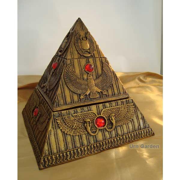 pyramid pet urn