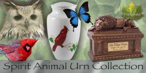 spirit animal cremation urns for ashes