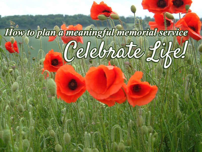 memorial planning tips