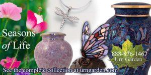 Urn Garden beautiful cremation urns for sale
