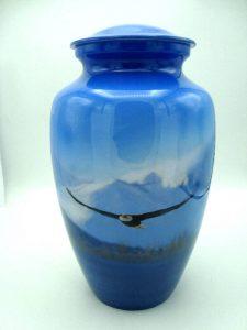 eagle cremation urn for ashes
