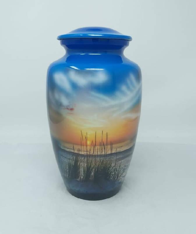 salt life ocean beach cremation urn for ashes
