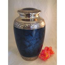 Mystic Blue urn