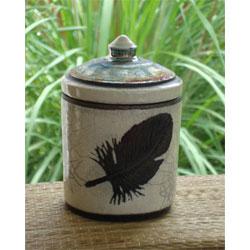 feather keepsake creamation urn