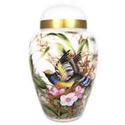 Secret Garden Urn for Ashes