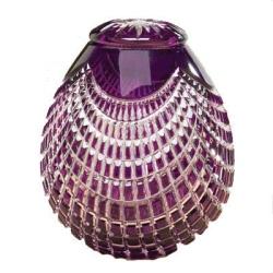 purple crystal funeral urn