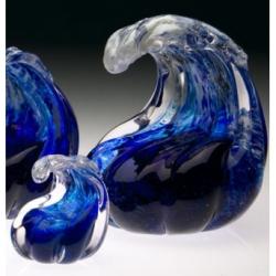 ocean wave cremation urn