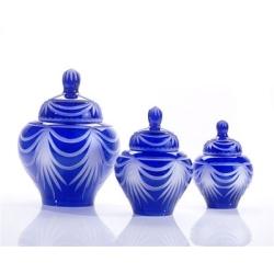 Cobalt Glass Cremation Urns
