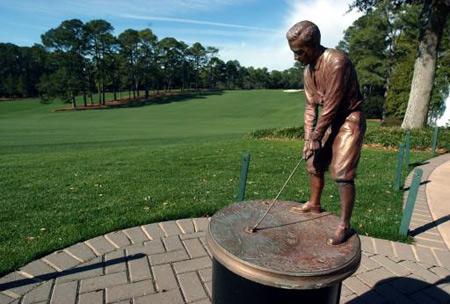 golf funeral urn