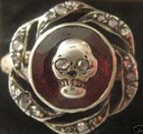 Skull Mourning Ring