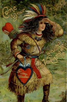 indian vintage valentine