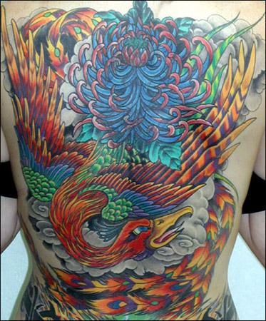 Phoenix tat, Tattoo Symbol dot com