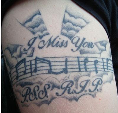 Peggy Edge Smith Memorial Tattoo