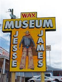jesse james tourist attraction